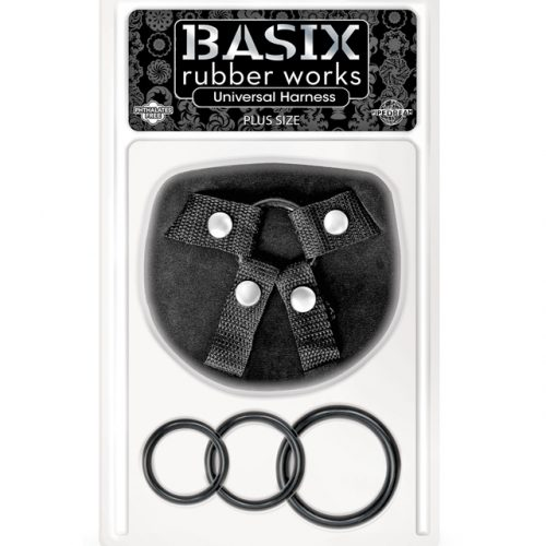 Basix Rubber Works Plus Size Universal Harness