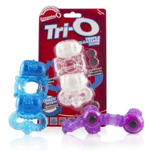 Tri-O Triple Pleasure Ring