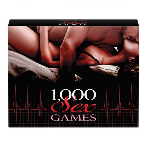 1000 Sex Games- A Couples Card Game