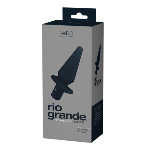 VeDO Rio Grande Rechargeable Anal Vibrator Box