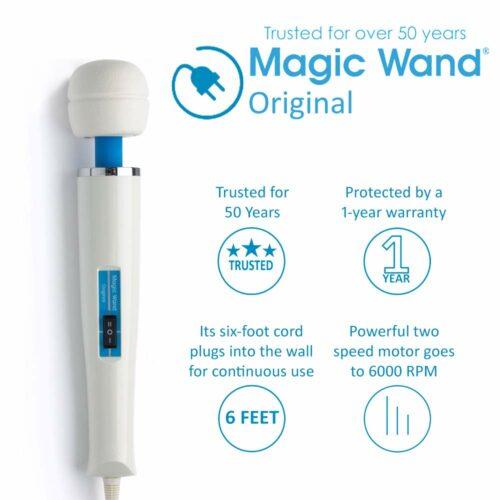 Magic Wand Original Personal Massager Specs
