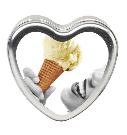 Edible Massage Heart Candle For Couples Vanilla