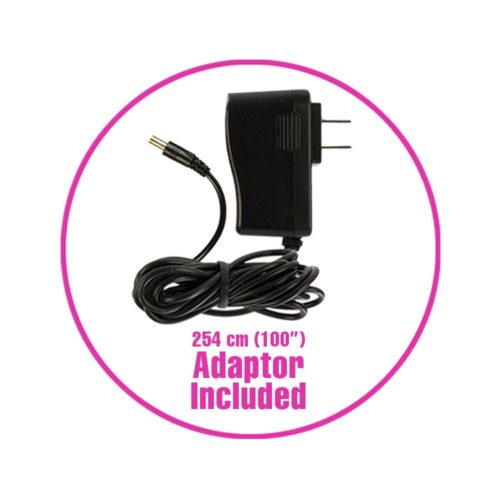 Palm Power Rechargeable Silicone Wand Massager Cable
