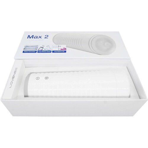 Lovense Max 2 Bluetooth Male Masturbator Box
