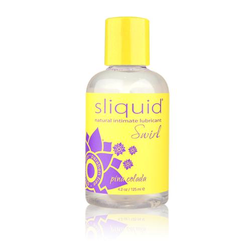 Sliquid Swirl Water-based Flavored Lubricants Pina Colada