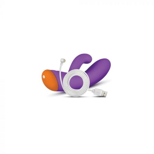 Blush Aria Electrify Dual Stimulation Vibrator USB