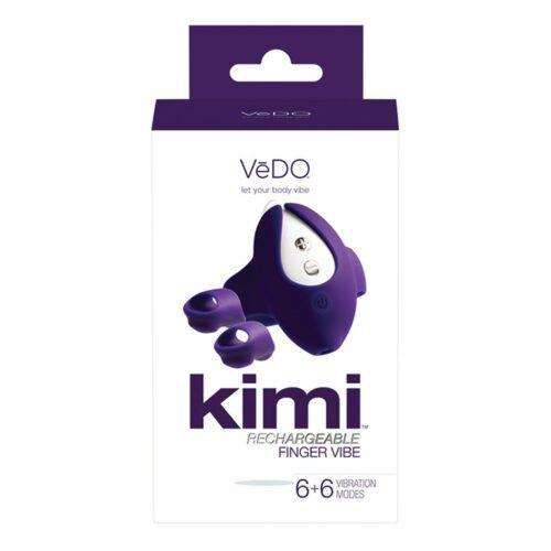 VeDO Kimi Rechargeable Dual Finger Vibrator Box