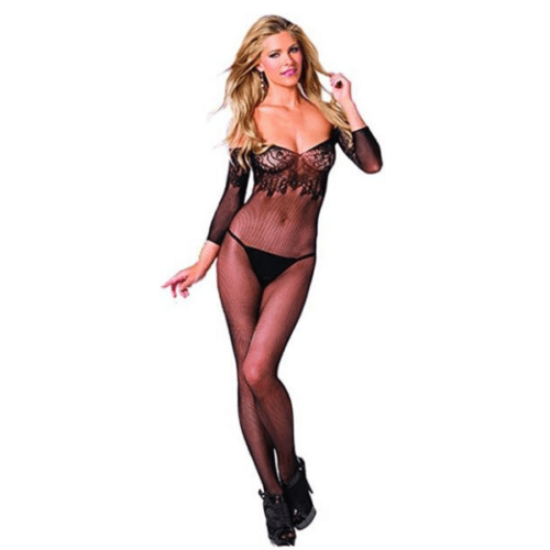 Floral Queen Bodystocking