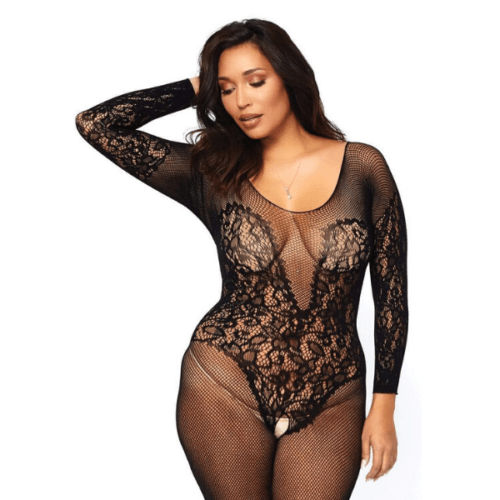 Queen Net Bodystocking