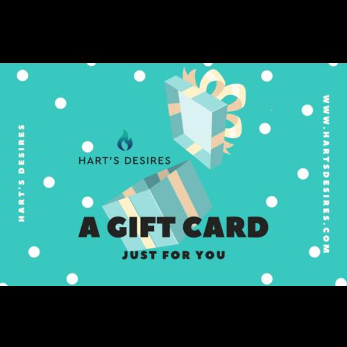 Hart's Desires Gift Card