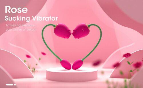 ROSE EGG Vibrator Rose Plus